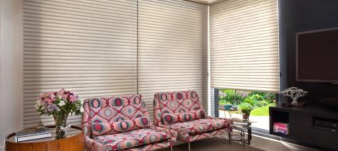 Cortina SoftCell Hunter Douglas -  Living (sala)