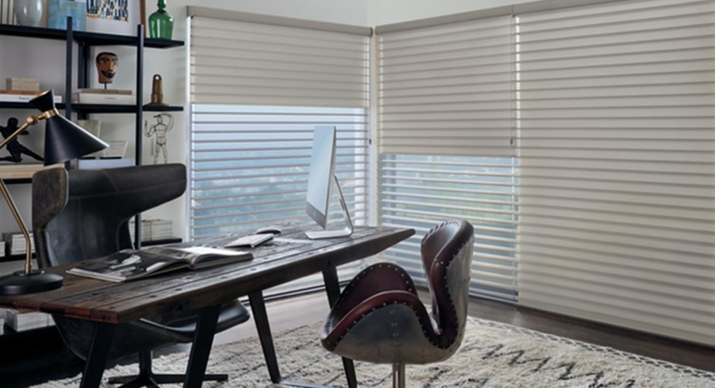Cortina Silhouette® Duolite une alta tecnologia e conforto visual