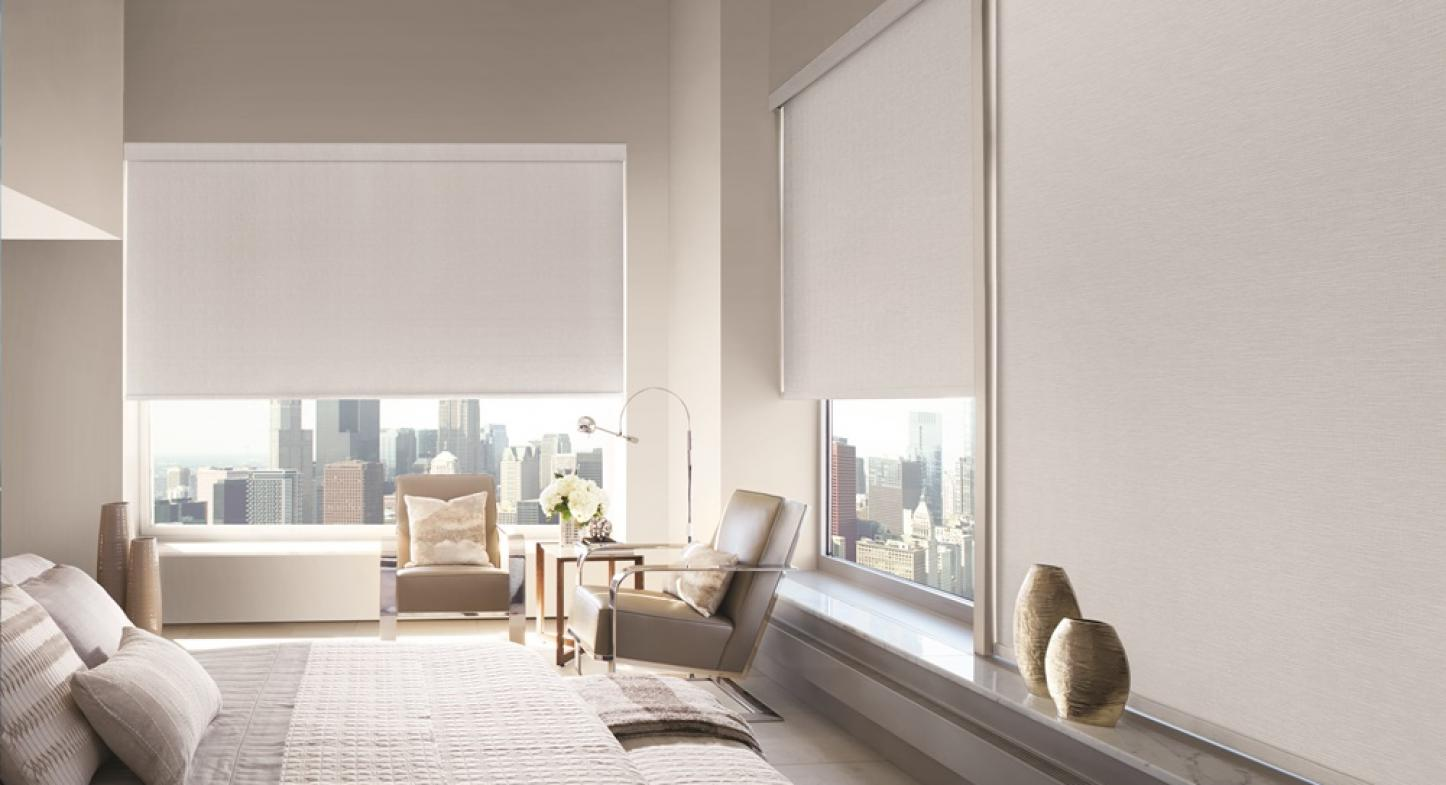 Como deixar os ambientes aconchegantes com a cortina Rolô