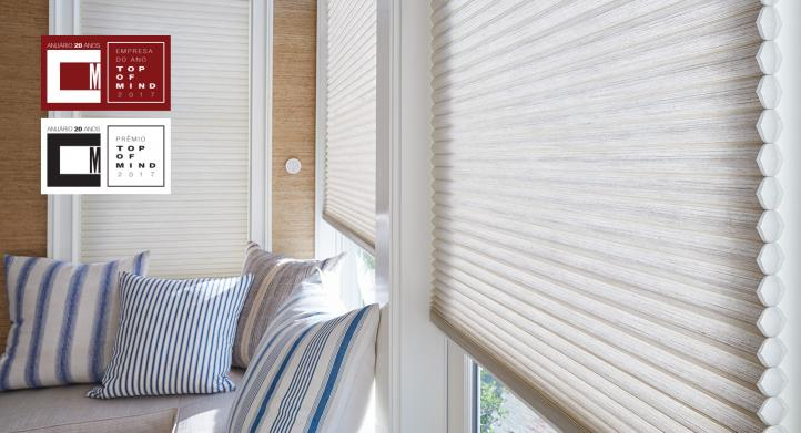 HunterDouglas® eleita Empresa do Ano, e pela 20ª vez consecutiva, Top of Mind