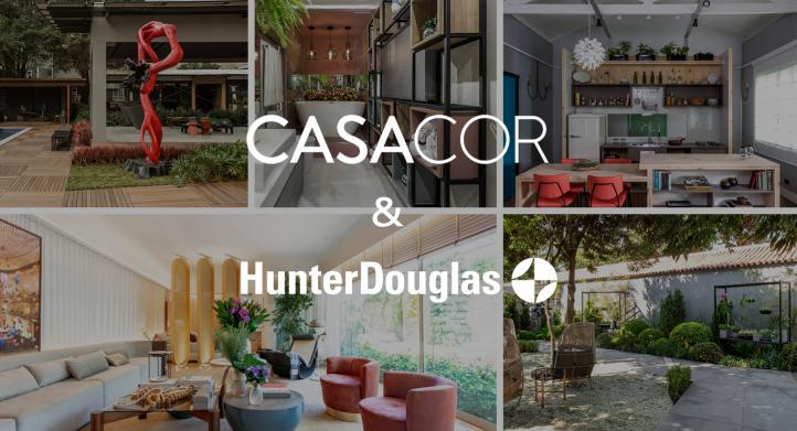 CasaCor e HunterDouglas®