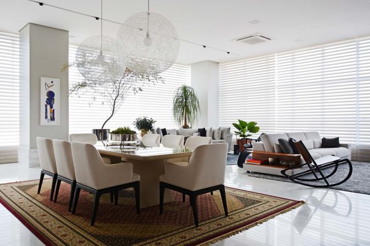 Silhouette®: cortina reveste janelas sem bloquear a entrada da luz natural