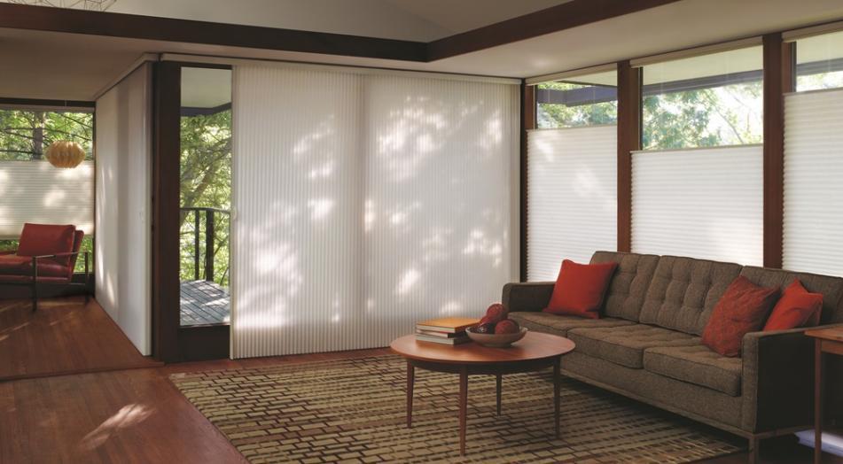 Duette®: cortina mantém conforto térmico nos dias frios