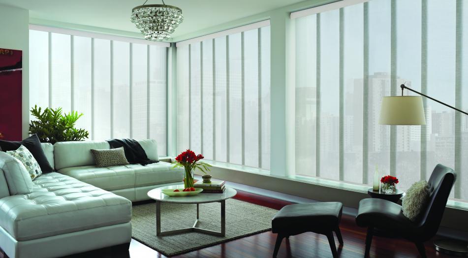 Painel de tecido: um jeito elegante de fazer divisória de ambientes