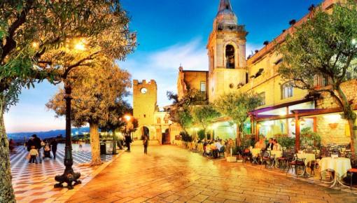 Embarcando para Taormina, o destino da premiação Diamond 2016