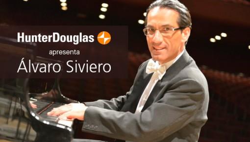 HunterDouglas promove recitais de música com Álvaro Siviero