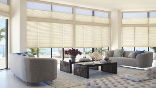 Controle a entrada de luz dos ambientes com eficiência