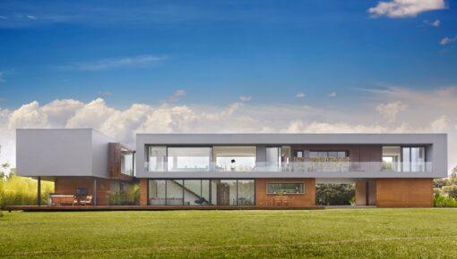 Novidades em fachadas de casas modernas