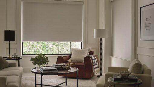 Rolô: cortina confere elegância e funcionalidade aos ambientes